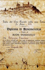 Best winemaker of the year 1971: Francesco Borgogno