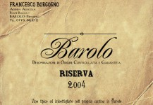Barolo Riserva Brunate Docg 2004