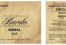 Barolo Riserva Brunate Docg 2005